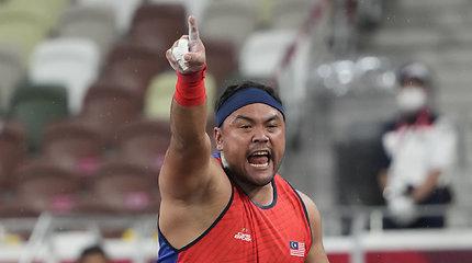 Skandalas paralimpinėse žaidynėse: čempionas neteko aukso medalio