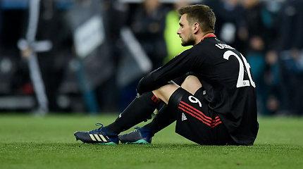 """""""Bayern"""" treneris pabandė paaiškinti siaubingą vartininko klaidą"""