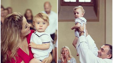 Dviguba šventė: per Beatos Nicholson gimtadienį – ir jos ketvirtojo sūnaus krikštynos