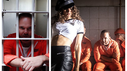 Lauriui Reinikiui teko pabuvoti už grotų – naują dainos klipą filmavo Latvijos kalėjimuose