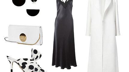11 įvaizdžių: ta pati juoda suknelė, bet skirtingi aksesuarai