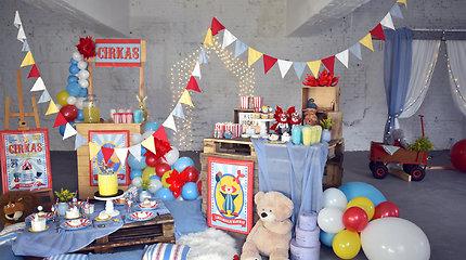 Simonos Filippovos kurtos dekoracijos vaikų šventėms