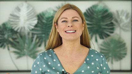 Viktorija Baltramiejūnienė pasidalijo trumpais pratimais, kaip sumažinti pagurklį ir kaklo raukšles
