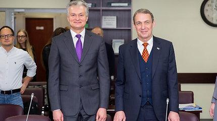 G.Nausėda ir A.Juozaitis užsiregistravo Vyriausioje rinkimų komisijoje savarankišku politinės kampanijos dalyviais