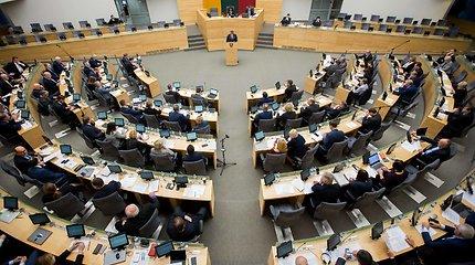 Pirmą sesijos dieną Seimas tikslins pilietybės referendumo datą