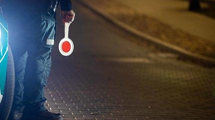 Savaitgalio reidai Vilniuje sugadino vairuotojo karjerą septyniems pažeidėjams