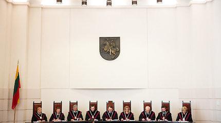 Grupė Seimo narių kreipėsi į KT dėl religinių bendruomenių pripažinimo termino