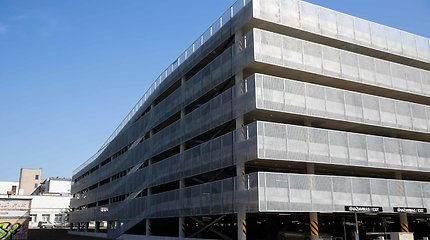 Naujoji daugiaaukštė automobilių stovėjimo aikštelė Santariškėse