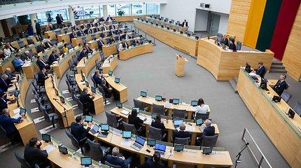 Seimas iš naujo svarstys prezidentės grąžintą įstatymą dėl privalomų seniūnijų