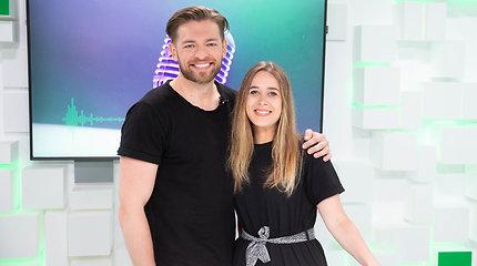 """15min studijoje –  iš """"Eurovizijos"""" grįžęs atlikėjas Jurijus Veklenko"""
