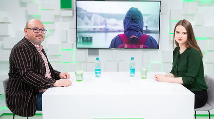 "15min studijoje – pokalbis su filmo ""Second Hand"" režiseriumi A.Jevdokimovu"