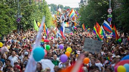 """""""Baltic Pride"""" 2019: gatvės prisipildė vaivorykštės spalvų"""