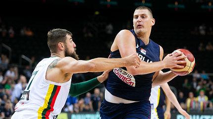 Kaune NBA žvaigždė Nikola Jokičius
