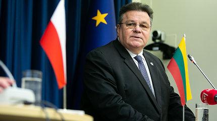 Lietuvos ir Lenkijos užsienio reikalų ministrų spaudos konferencija
