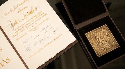 Nacionalinės Jono Basanavičiaus premijos įteikimo iškilmės
