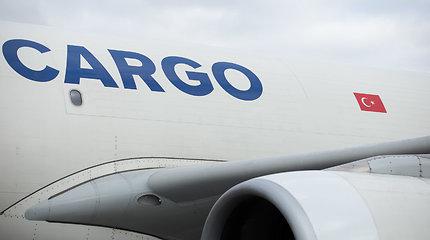 """""""Turkish Cargo"""" didina krovinių srautus Lietuvos oro uostuose"""