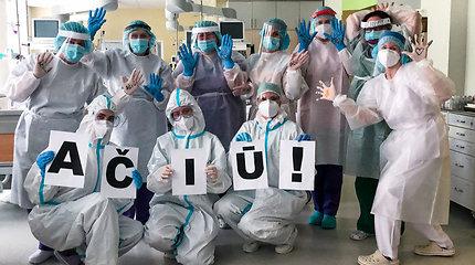 Šiaulių ligoninės reanimatologai, persikvalifikavę kovai su COVID-19, išlaikė sunkų išbandymą