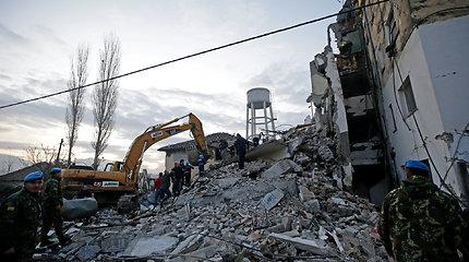 Lietuva skirs pagalbą nuo žemės drebėjimo nukentėjusiai Albanijai