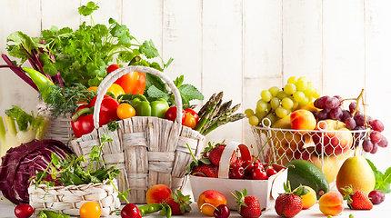 Ir estetiška, ir visad po ranka: idėjos, kaip laikyti vaisius ir daržoves namuose