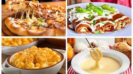 Universalūs produktai, kurie niekada nenusibosta – sūrio patiekalai visai dienai