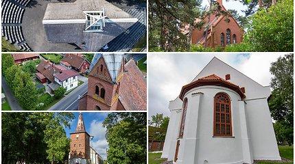Architektūros ir kraštovaizdžio darna – Mažosios Lietuvos bažnyčios