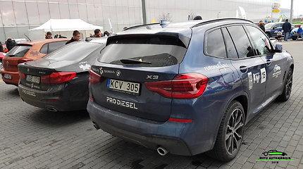 "Konkurso Lietuvos ""Metų automobilis 2018"" dalyvis – BMW X3"