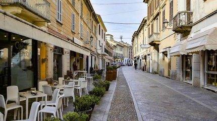 Šiaurės Italijoje koronavirusas kardinaliai pakeitė italų gyvenimą
