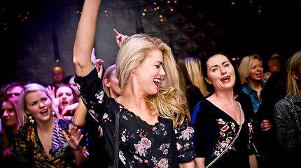 """""""Pinul Girls"""" koncertas naktiniame klube """"Mojo Lounge Kaunas"""""""