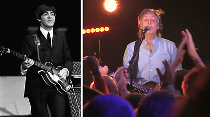 """Neblėstanti """"The Beatles"""" manija: Paulas McCartney grįžo ten, kur viskas prasidėjo"""