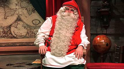 Prieš išvykdamas į kelionę Kalėdų Senelis pranešė labai svarbią žinią