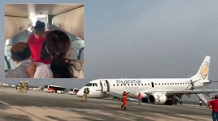 Profesionalūs piloto įgūdžiai padėjo išvengti nelaimės – saugiai nutupdė lėktuvą be priekinių važiuoklės ratų