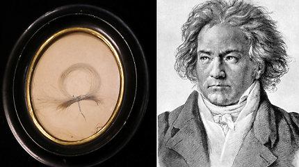 Su neeiline istorija susijusi Beethoveno plaukų sruoga aukcione parduodama už įspūdingą sumą