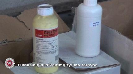 FNTT tyrimas: atskleista kauniečių grupuotė, prekiavusi kontrabandiniais pesticidais