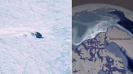 NASA mokslininkai skambina pavojaus varpais: tirpo 90 proc. Grenlandijos ledo sluoksnio