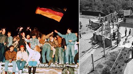 Prieš 30 metų griuvo Berlyno siena: politikai žadėjo, kad tokios sienos niekada nebus