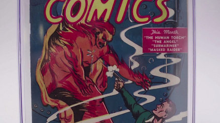 """Kaina už ypatingą komiksų knygą privers išsižioti: leidimas tapo brangiausiu """"Marvel"""" komiksu istorijoje"""