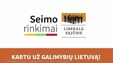 Liberalų sąjūdžio programa galimybių Lietuvai