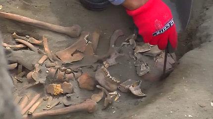 Archeologai Peru rado dvylika paaukotų vaikų kapų