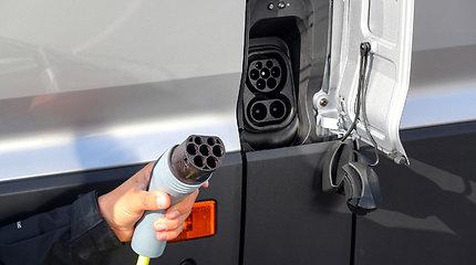 "Elektrinis ""Volkswagen e-Crafter"" jau Lietuvoje"