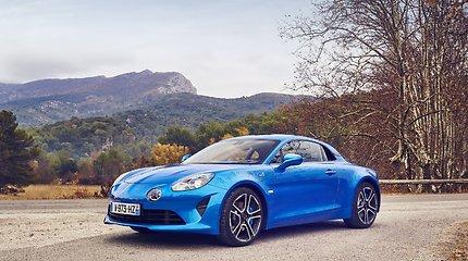 """Sportiškiausio automobilio vardą pelnė """"Alpine A110"""""""