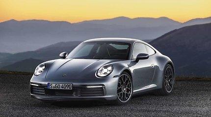 """Naujieji """"Porsche 911"""" hibridiniai modeliai ruošiami serijinei gamybai"""