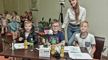 Vaikų talentų šou Klaipėdoje su žinomais žmonėmis