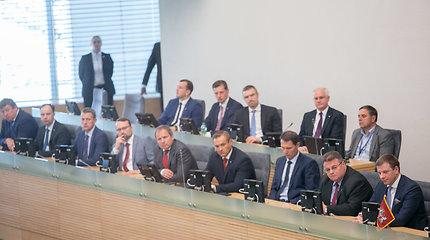 Po D.Grybauskaitės kritikos G.Surplys prakalbo apie ne elitą, o A.Veryga – apie pagyrimus