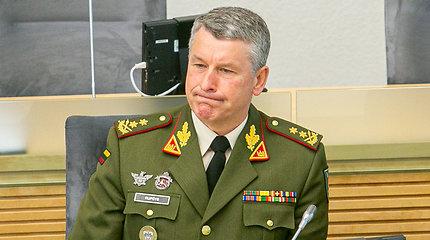 Kandidatas į kariuomenės vadus V.Rupšys: kariuomenėje daryti revoliucijų nebegalima