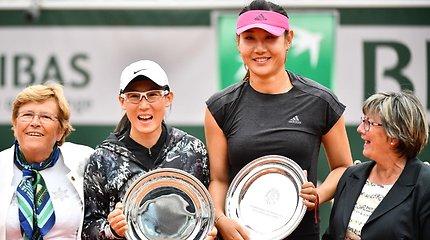 """""""Roland Garros"""" dvejetų turnyro finalas"""