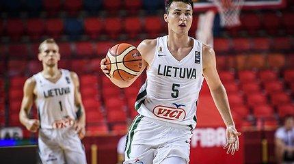 U20 Europos krepšinio čempionatas: Lietuva - Turkija