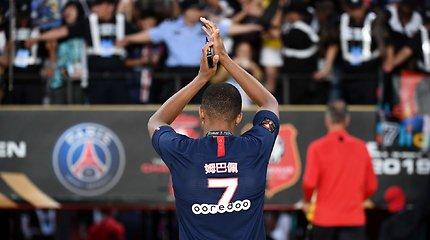 """""""Paris Saint Germain"""" triumfas Prancūzijos Supertaurėje"""