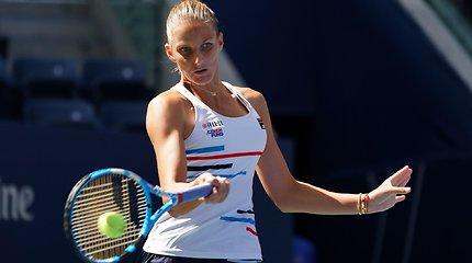 """US Open"" pirmasis etapas: Karolina Pliškova – Tereza Martincova"