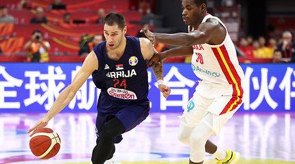 Pasaulio čempionato starte – Serbijos pergalė beveik pusšimčiu taškų