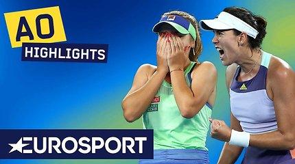 """Australian Open"" moterų finalas: Sofia Kenin – Garbiñe Muguruza"
